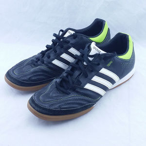 Adidas 11NOVA 11PRO Black White Stripe Indoor Shoe